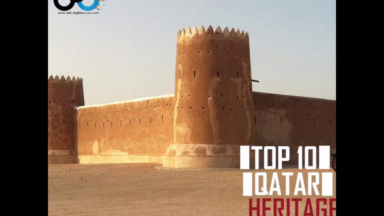 Top 10 Qatar Heritage Sites - YouTube