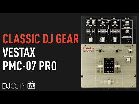 Classic DJ Gear: Vestax PMC-07 Pro