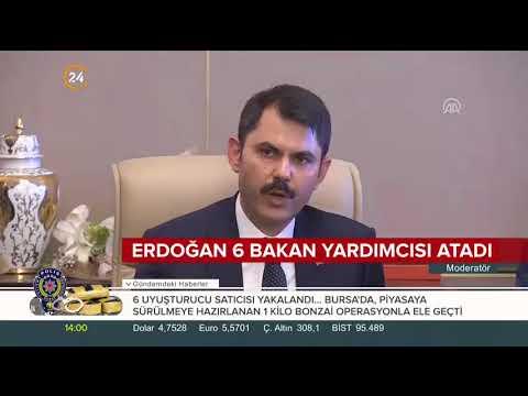 Başkan Erdoğan, 6 Bakan Yardımcısı atadı