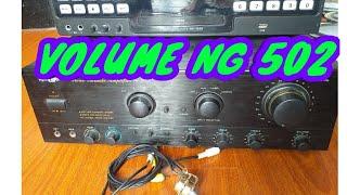 PAANO MAG LAGAY NG EXTRA VOLUME SA 502 AMP? (for videoke)