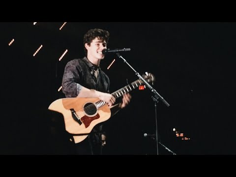 "Shawn Mendes ""A Little Too Much"" Live At Moda Center Illuminate World Tour Portland"