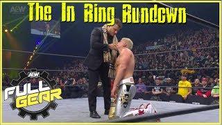 AEW Full Gear | The In Ring Rundown #27 | MJF turns on Cody, Moxley vs Omega