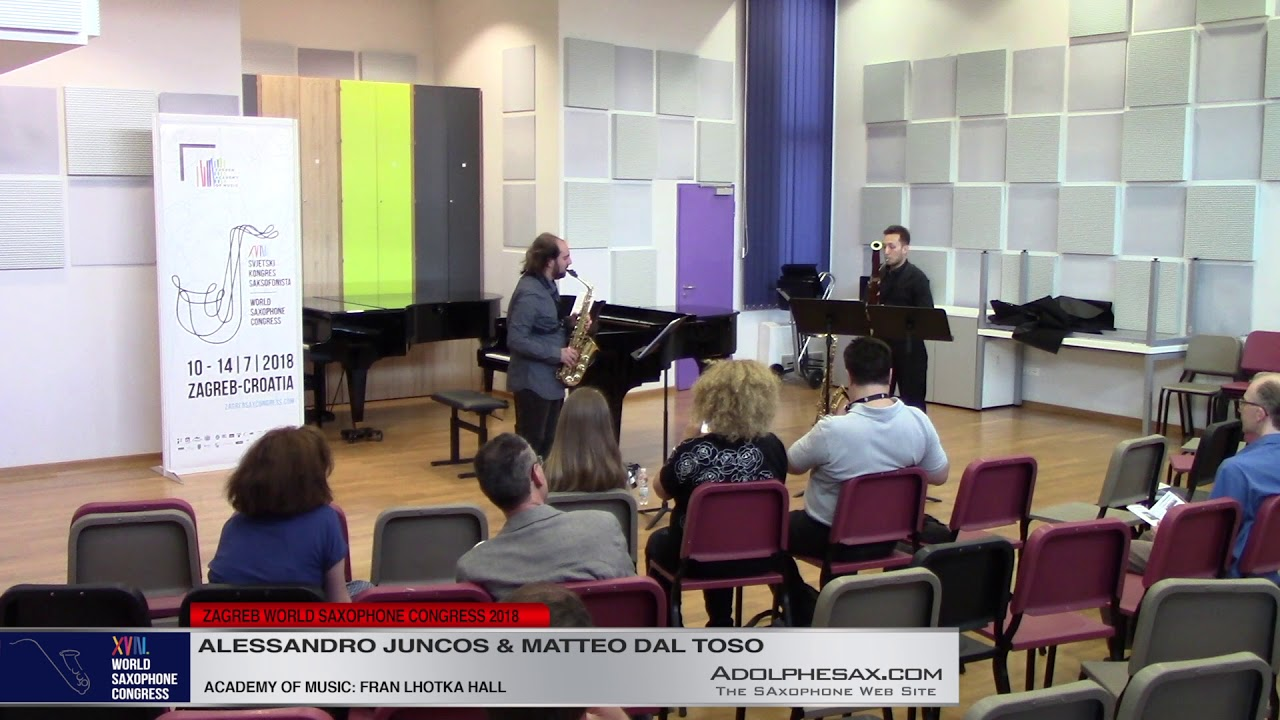 Nothing to talk about by Elena Rezzaro   Alessandro Juncos & Matteo dal Toso   XVIII World Sax Congr