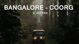 ON THE ROAD.. TO COORG!