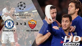 Chelsea vs Roma 3-3 UCL | All Goals & Extended Highlights 18-10-2017