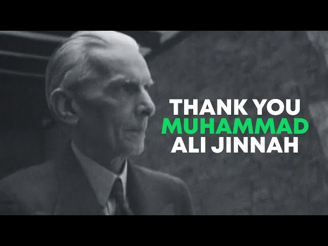 The Pakistani Nation Is Thankful To Jinnah