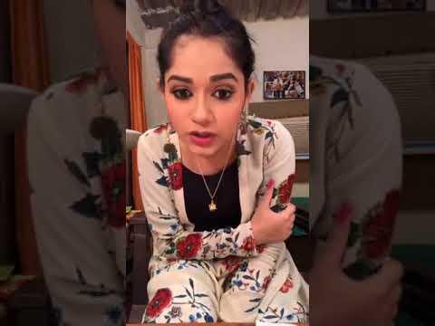 Jannat zubair live video chat insta NEW