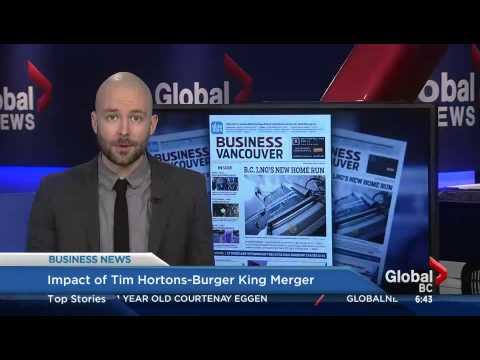 BIV on Global BC Oct 30 2014 Tim Hortons Burger King