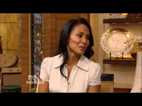 Jada Pinkett Smith  Live With Kelly and Michael 3 06 2015