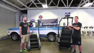 Comparing the StairMaster SM3 and Gauntlet StepMills - Call 866-203-5770
