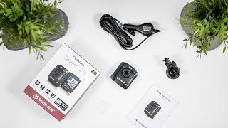 Transcend DrivePro 230 Dashcam Overview