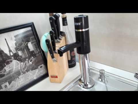 Решение по питьевой воде. Насос для бутылей.