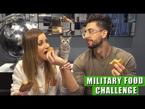 MILITARY FOOD CHALLENGE