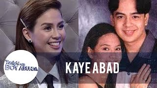Kaye admits that John Lloyd is her first love | TWBA