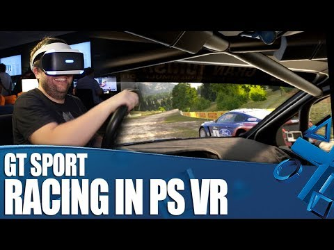 GT Sport - Racing 1-on-1 With PS VR