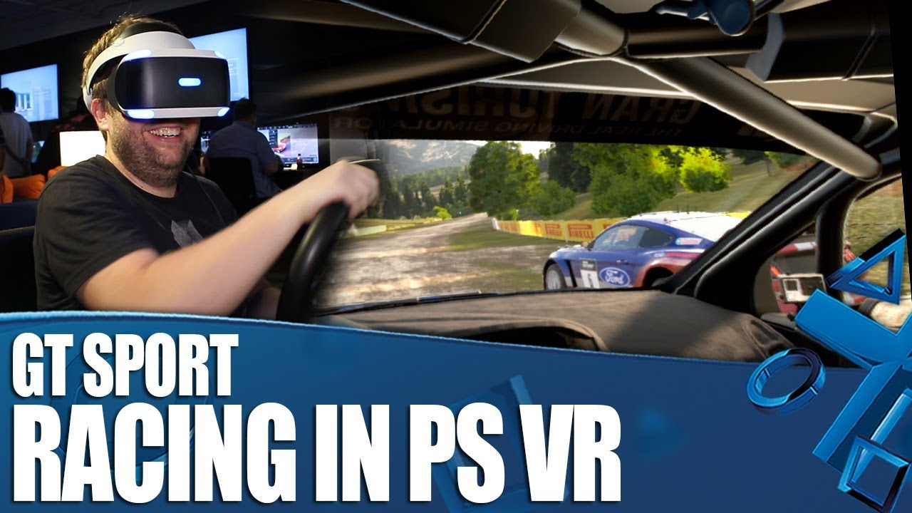 gt sport racing 1 on 1 with ps vr youtube. Black Bedroom Furniture Sets. Home Design Ideas