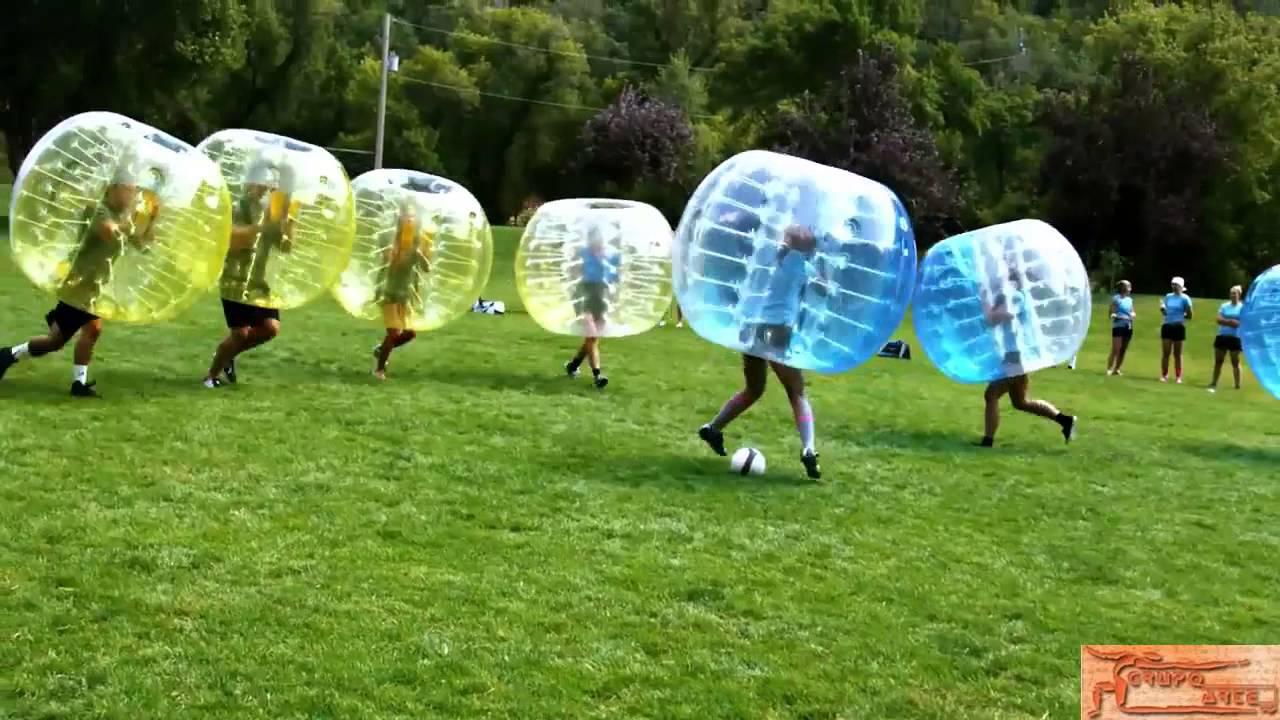 Futbol De Burbujas Al Aire Libre Y Lugar Abierto Grupo Arte Youtube