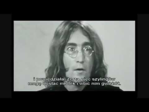 John Lennon RARE interview how he met Yoko - YouTube.flv