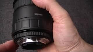 sigma 28-70 F 1/2.8 на кропе Nikon с примерами фото