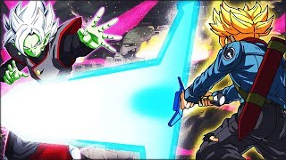 TEQ TRUNKS, AGL ZAMASU, STR GOGETA, GOWASU & EZA GOKU BLACK VS. BATTLEFIELD! (DBZ: Dokkan Battle)