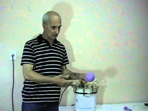 EXPLOSION DE GLOBO CON HIDROGENO - EXPLOSION OF GLOBE WITH HYDROGEN