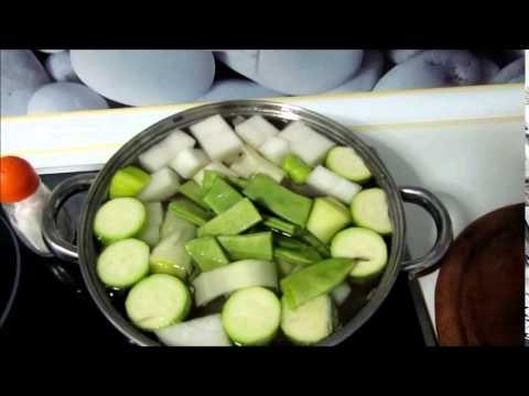 Pures de verduras para adelgazar