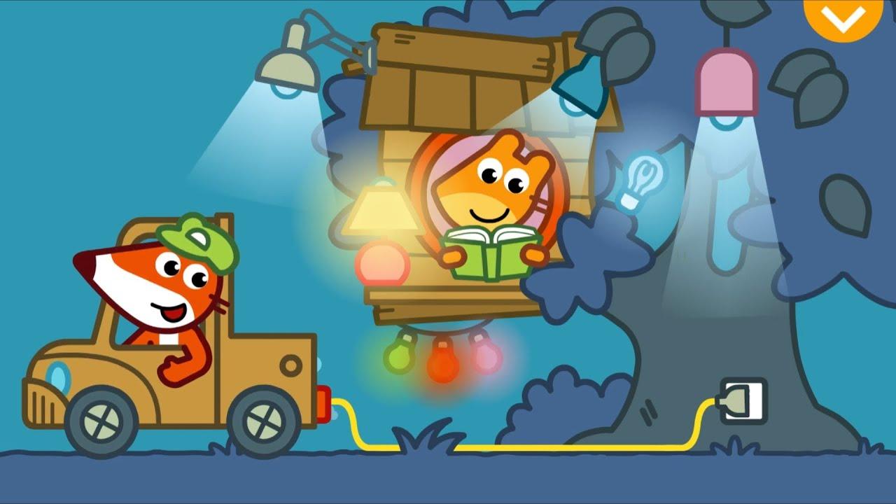Download Pango Storytime - Fox Handyman Helping Friends