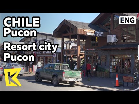 【K】Chile Travel-Pucon[칠레 여행-푸콘]휴양도시 푸콘의 모습/Andes/Mountains/Villarrica/Resort city