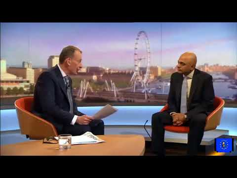 Sajid Javid lies on the Marr Show about police cuts and their effect on crime