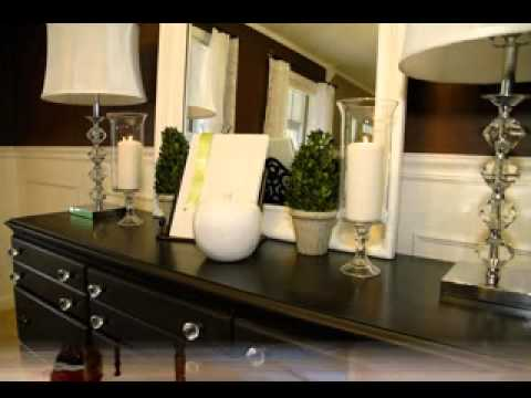 DIY Dining room buffet decorations - YouTube