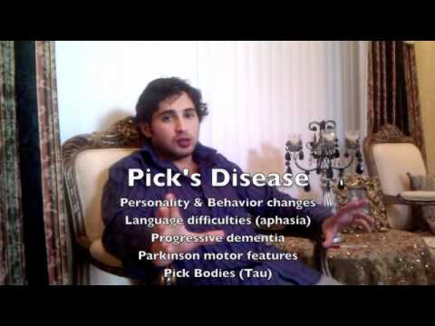 neuropathology mnemonic for parkinson's disease, pick's disease, Skeleton