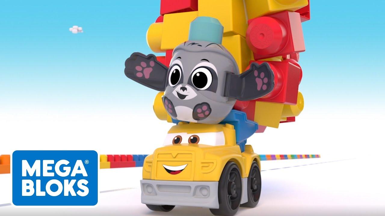 MEGA BLOKS™ | Vaca, la policia de tránsito | NUEVO! | Dibujos animados | Videos de bebe