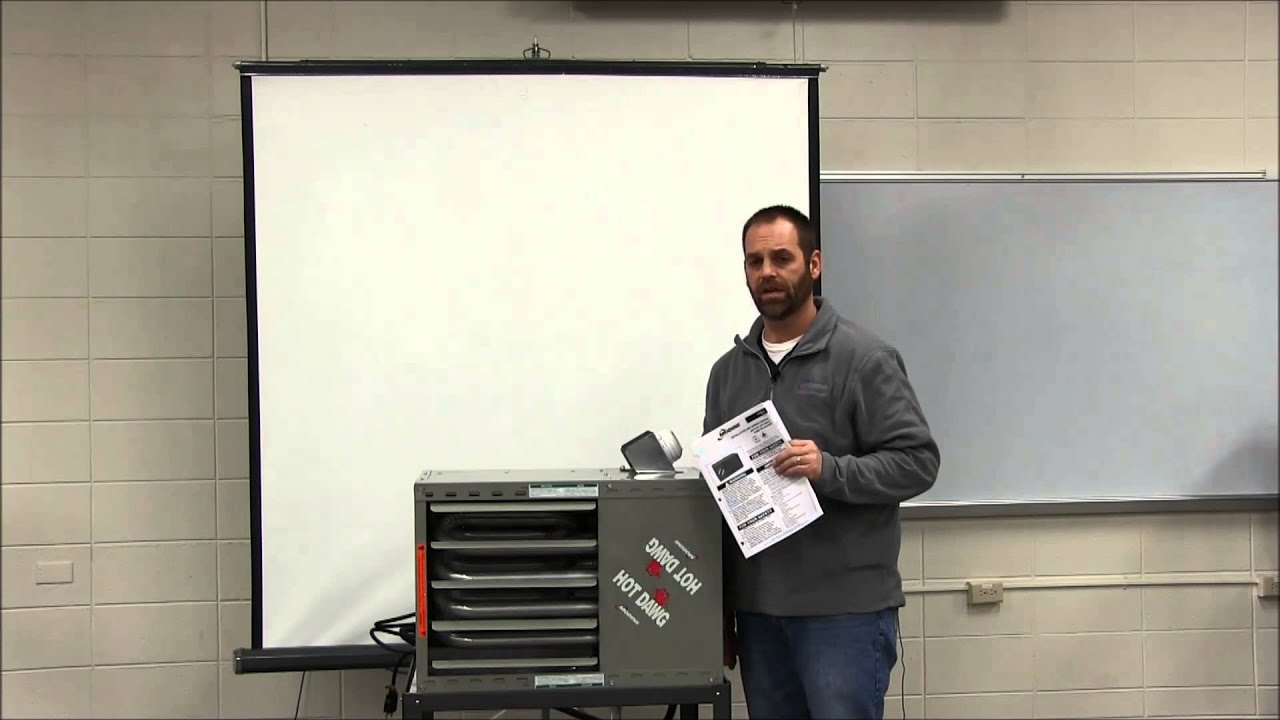How To Vent A Modine Unit Heater Horizontal Category Iii