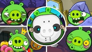 Bad Piggies - Tusk Til Dawn Halloween All 3 Star (Level 21 to 24) [Mobile Games]