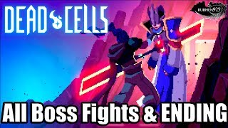 DEAD CELLS [PS4 PRO] Gameplay - All Boss Fights & ENDING
