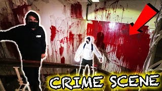 EXPLORING BLOODY ABANDONED HOSPITAL (gone wrong)