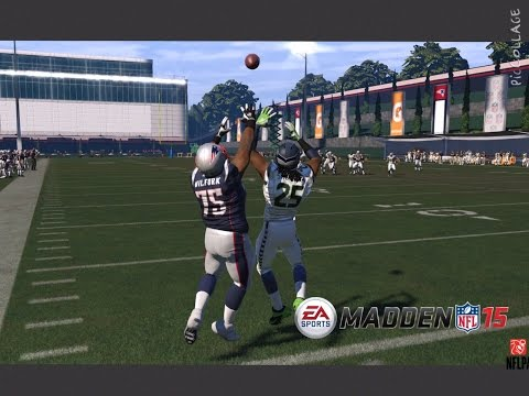 Madden NFL 15 Challenge - CAN VINCE WILFORK CATCH A HAIL MARY OVER RICHARD SHERMAN???