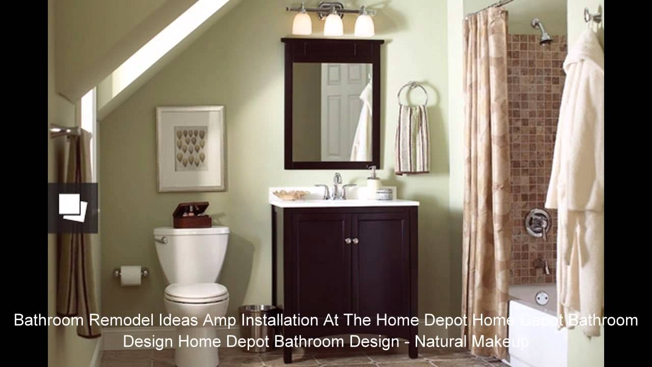 Home Depot Bathroom Design Home Depot Bathroom Design Ideas Youtube