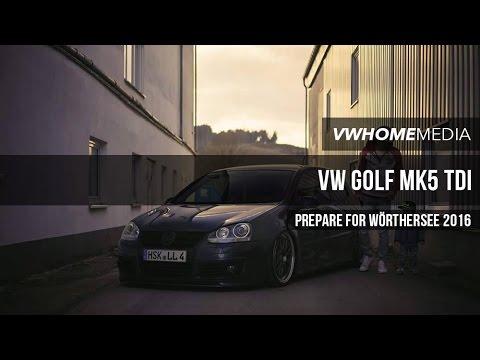 VW Golf MK5 TDI 'Prepare for WSee 2016' | Marcel Kohl | VWHome