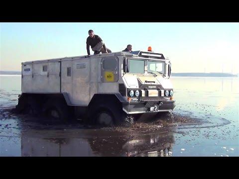 Russia Amphibious All-Terrain Vehicle Testing [1080p]