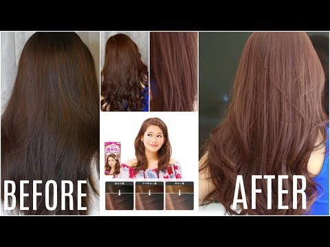 KAO LIESE HAIR DYE: Step by Step Tutorial/Product Review