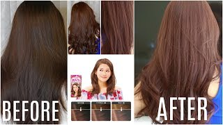 kao liese hair dye step by step tutorialproduct review