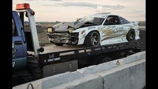 Crashing My Drift Car Straight Into A Wall