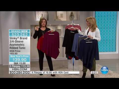 HSN | Slinky Brand Fashions 01.28.2017 - 08 AM