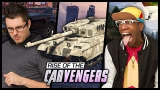 QUEST FOR THE MILITARY TANK (Grand Theft Smosh)