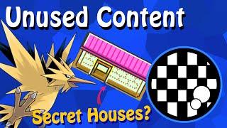 Unused Content: Pokemon Generation Two (Kanto Legendaries + Secret House?) PART 1