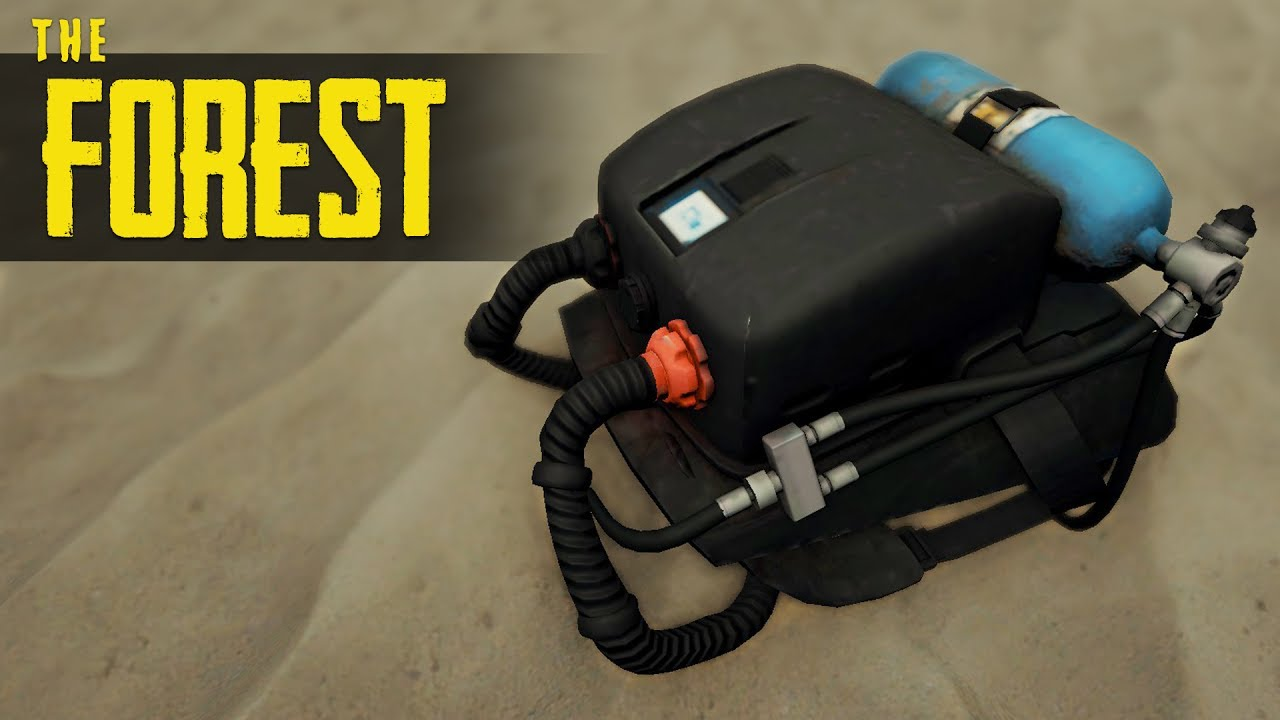 How To Get The Rebreather The Forest Tutorial Youtube Другие видео об этой игре. how to get the rebreather the forest tutorial