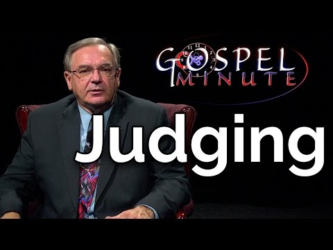 One Gospel Minute - Judging