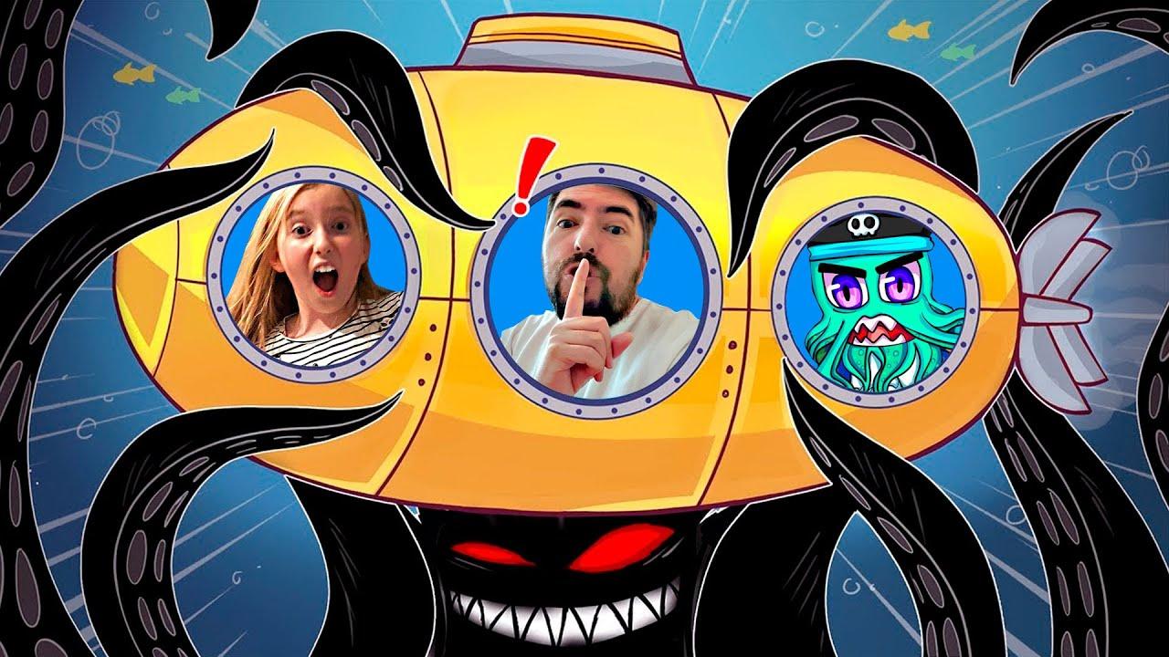 СТРАШНОЕ ПОДВОДНОЕ ПРИКЛЮЧЕНИЕ Ужасная история Роблокс на подводной лодке Мы играем Submarine Story