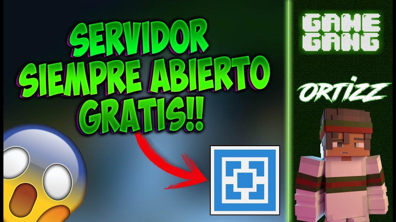 Como hacer un SERVER de Minecraft SIEMPRE ABIERTO - Update ...